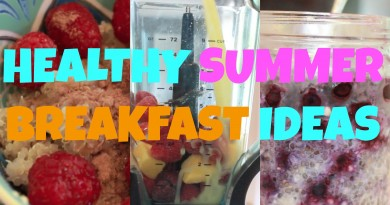 Healthy Breakfasy Ideas
