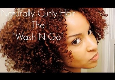 Wash N Go Technique For Frizz Free Curls