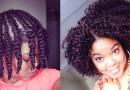 Natural Hair | Flat-Twist Out