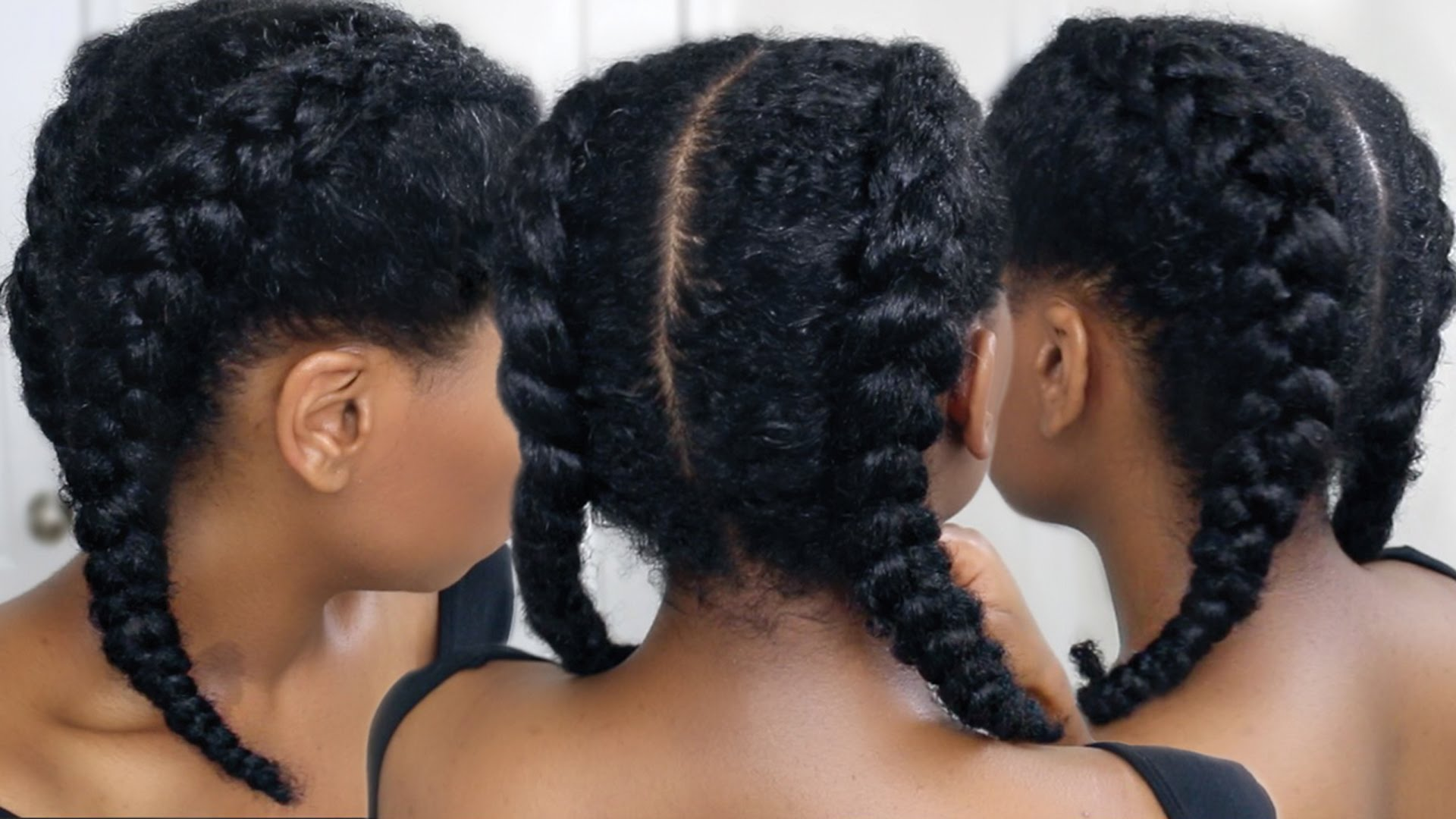 Hair tutorials love black hair watch and learn from this easy tutorial baditri Images